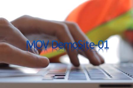 企業用(動画)デモサイト01